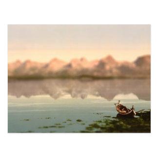 Carte Postale La miniature de la Norvège de sept soeurs