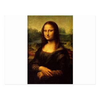 Carte Postale La Mona Lisa par Leonardo da Vinci C. 1503-1505