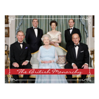 Carte Postale La monarchie britannique