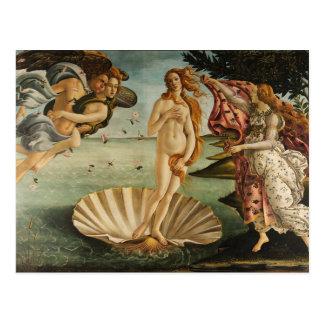 Carte Postale La naissance de Vénus