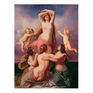 Carte Postale La naissance de Vénus, 1846