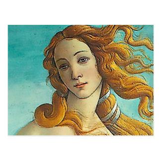 Carte Postale La naissance de Vénus - haut étroit