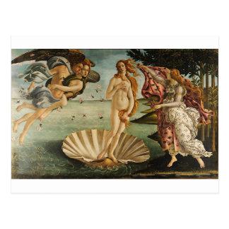 Carte Postale La naissance de Vénus - Sandro Botticelli