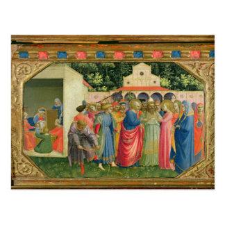 Carte Postale La naissance et le mariage de la Vierge