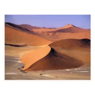 Carte Postale La Namibie : Dunes de Sossuvlei, scénique aérien