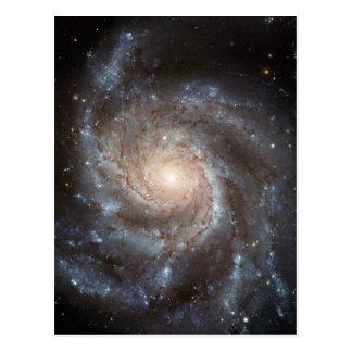 Carte Postale La NASA de galaxie en spirale du soleil M101