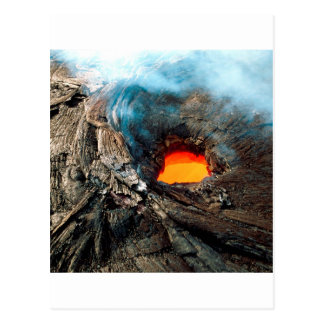 Carte Postale La nature force des volcans de Kilauea Hawaï