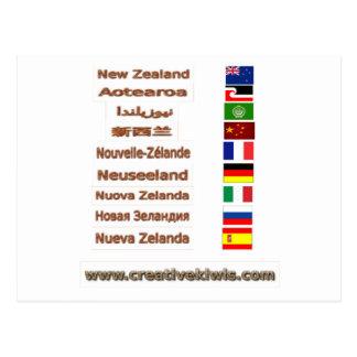 Carte Postale La Nouvelle Zélande, Aotearoa