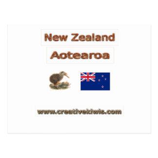 Carte Postale La Nouvelle Zélande Aotearoa