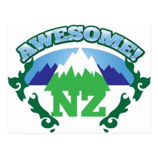 Carte Postale La NOUVELLE ZÉLANDE impressionnante ! avec des