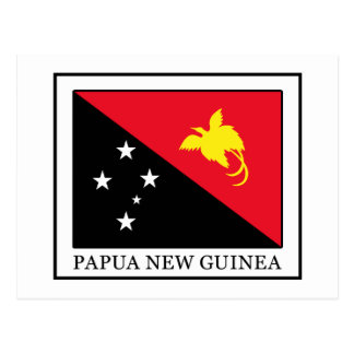 Carte Postale La Papouasie-Nouvelle-Guinée