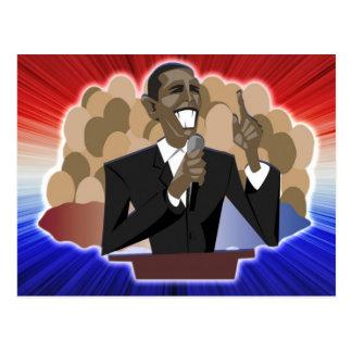 Carte Postale La parole d'Obama