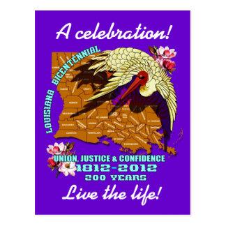 Carte Postale La partie bicentenaire de la Louisiane de mardi