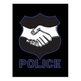 Carte Postale La police remet la secousse
