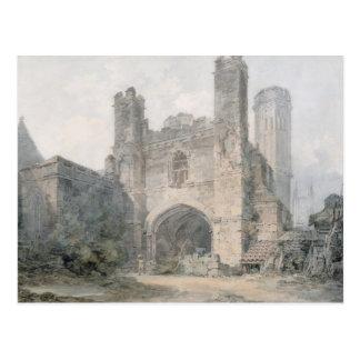 Carte Postale La porte de St Augustine, Cantorbéry, c.1797 (la
