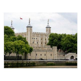 Carte Postale La porte des traîtres, la tour de Londres