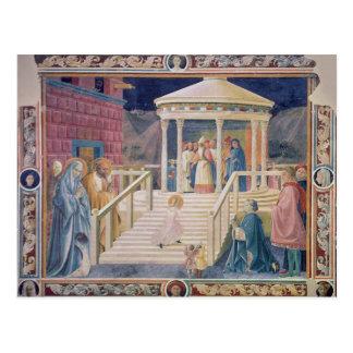 Carte Postale La présentation de Vierge Marie béni