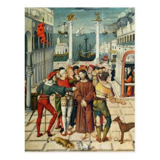 Carte Postale La raillerie du Christ
