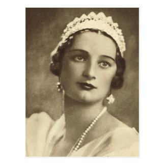 Carte Postale La Reine Astrid de la Belgique