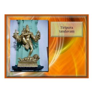 Carte Postale La religion, hindouisme, rencontrent les dieux