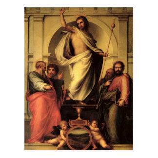 Carte Postale La résurrection du Christ