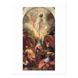 Carte Postale La résurrection du Christ (huile sur la toile)
