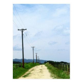 Carte Postale La route en avant