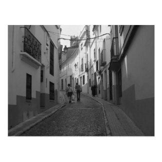 Carte Postale La rue