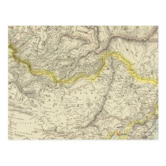 Carte Postale La Russie en Asie, empire chinois