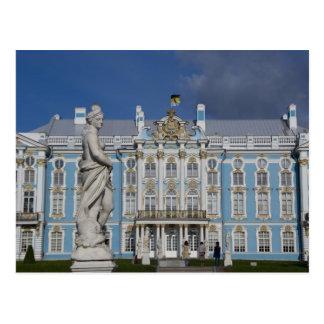 Carte Postale La Russie, St Petersburg, le palais de Catherine