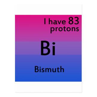 Carte Postale La science bisexuelle