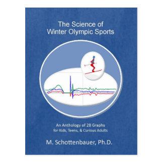 Carte Postale La Science des sports olympiques d'hiver