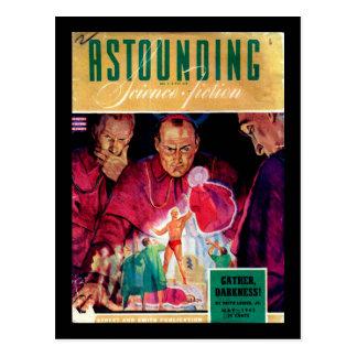 Carte Postale La Science Fiction_ art stupéfiant de _Pulp en mai