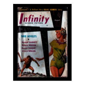 Carte Postale La science-fiction d'infini - art 1956.8_Pulp