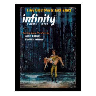 Carte Postale La science-fiction d'infini - art 1957.07_Pulp