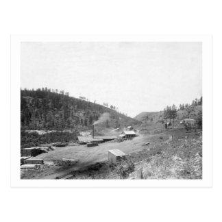 Carte Postale La scierie de Dobbin dans la photographie de Black