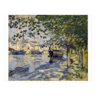 Carte Postale La Seine à Rouen par Claude Monet