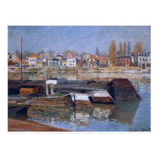 Carte Postale La Seine chez Asnieres par Claude Monet
