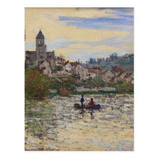 Carte Postale La Seine chez Vetheuil par Claude Monet