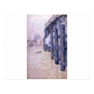 Carte Postale La Seine par des frittes Thaulow