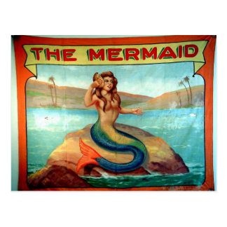 Carte Postale la sirène