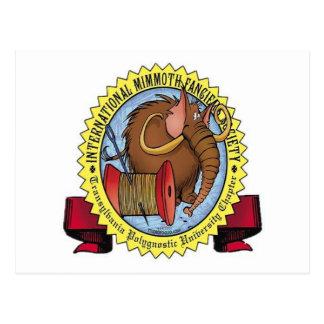 Carte Postale La société du Fancier de Mimmoth