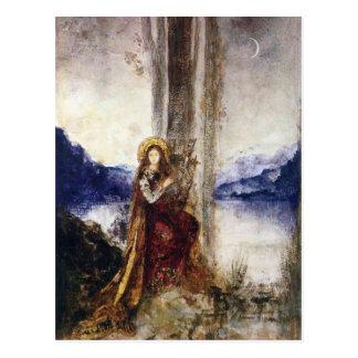 Carte Postale La soirée par Gustave Moreau