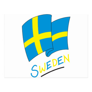 Carte Postale La Suède