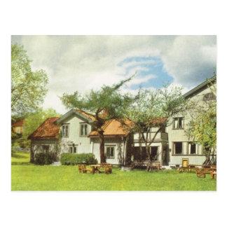 Carte Postale La Suède vintage, auberge de jeunesse, Sigtuna