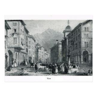 Carte Postale La Suisse Vaud, Sion, 1896