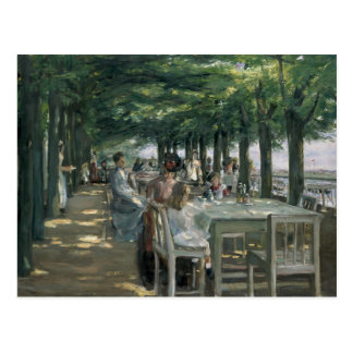 Carte Postale La terrasse au restaurant