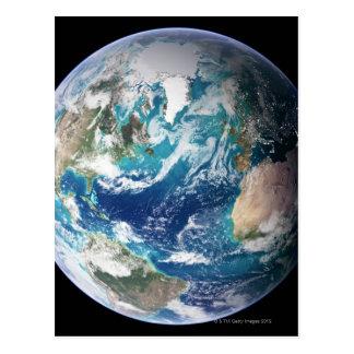 Carte Postale La terre 2