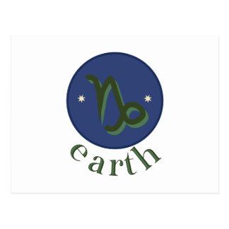 Carte Postale La terre de Capricorne