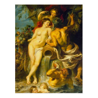 Carte Postale La terre et l'eau - Rubens